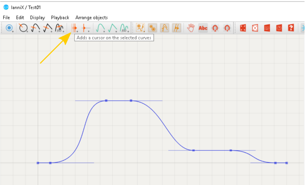 Add a cursor to the graph